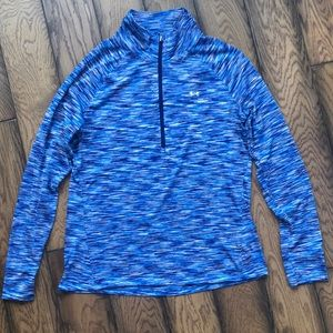 Under ARMOUR Semi fitted all season zip up